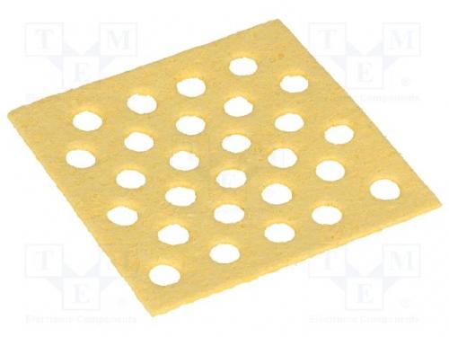 , Tip cleaning sponge; 70x70mm -