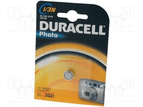DURACELL - DURACELL DL1/3N, Battery: lithium